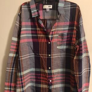 Old navy classic button up XL